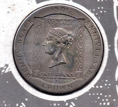 *150th ANNIVERSARY OF THE BLACK PENNY UNC LIMITED EDITION COIN