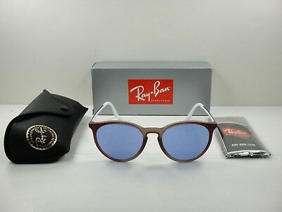 271f60acd25 Ray-Ban Round Sunglasses Rb4274 6366D1 Brown   Gunmetal violet Classic Lens  53Mm