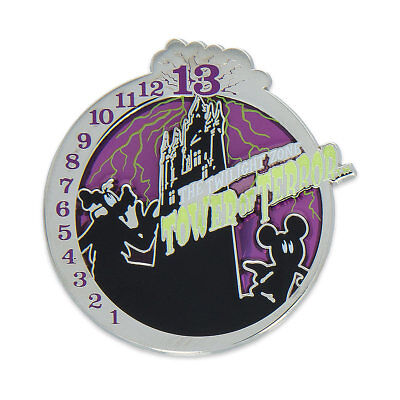 NEW! Disney Parks Exclusive Tower of Terror PIN Mickey Mouse Goofy Elevator