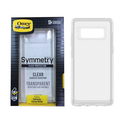 Case for Samsung Galaxy Note 8 OtterBox Symmetry Sleek Shockproof Thin Cover