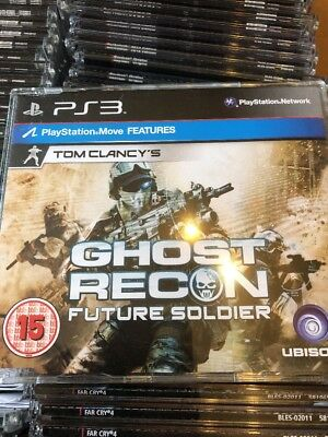 PS3 Tom Clancys Ghost Recon Future Soldier Promo Game (Full Promotional Game)