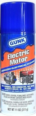 1 Gunk Electric Motor Energized Electrical Cleaner Degreases Components 11 oz