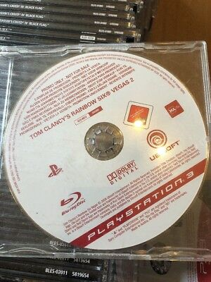 PS3 Rainbow Six 6 Vegas 2 Promo Game (Full Promotional Game) Ubisoft PAL