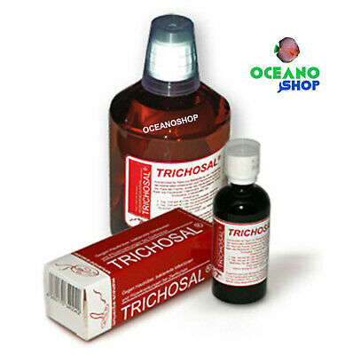 Trichosal 100 ML manaus aquarium infecciones bacterianas y hongos peces disco