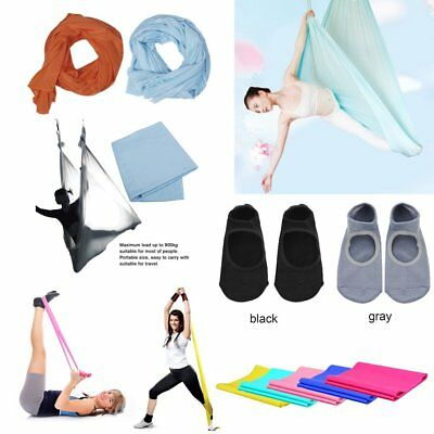 Aerial Yoga Hammock Yoga Belts Elastic Yoga Pilates Rubber Stretch Yoga Socks CK