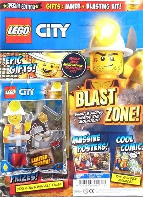 Lego City Magazine Issue #6 2018 ~ New With Lego Gift ~
