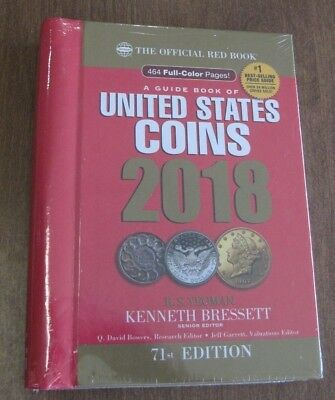 2018 Whitman Official Red Book of US Coins- 71st Edition - Hidden Spiral *NEW*
