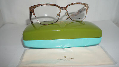 749964333fa Kate Spade New York Frame RX Eyeglasses New LADONNA Blink Gold S41 53 15 140
