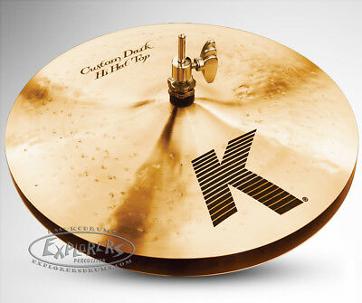 "Zildjian 14"" K Custom Dark Hi Hat Cymbal Pair - K0943"