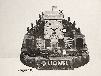 Lionel 100th Anniversary Alarm Clock all parts included with Train. Works Great.