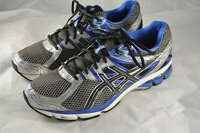 reputable site d5dcb fa528 Mens ASICS GT 1000 3 Blue Silver Running Shoes Size 13 US 48 EUR