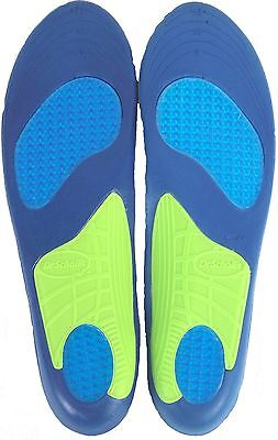 3* Pairs Dr. Scholl's Massaging Gel Sport Replacement Insoles Men's Size 7 To 12