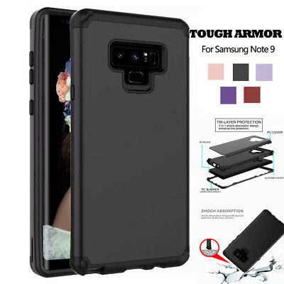 Hybrid Shockproof 360° Protective Case Cover For Samsung Galaxy Note 9/8 S8/S9+