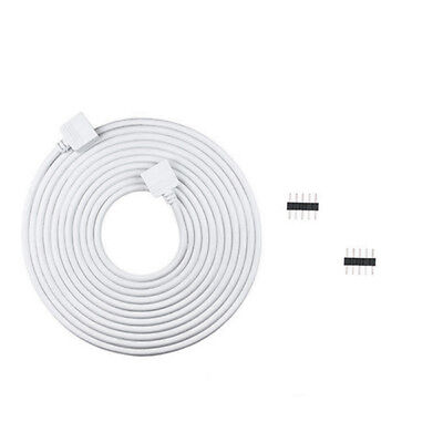 2M 5PIN Extension Cable Wire Cord Led Connector for RGBW RGBWW LED Strip Lights