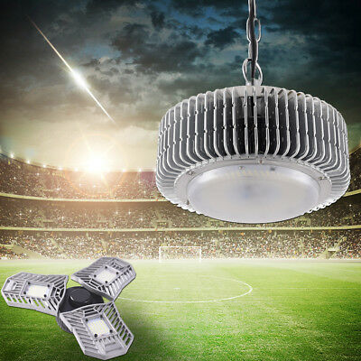 200W 100W 60W LED High Bay Light Warehouse Super Bright Industrial Lamp Fixtures