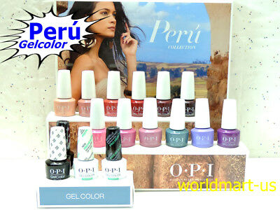 OPI GelColor 15ml/0.5fl.oz PERU Collection Polish Fall Perú /Choose Any Color