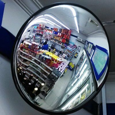 30cm Round Convex Mirror Blind Spot Safety Mirror Traffic Driveway Shop Junction