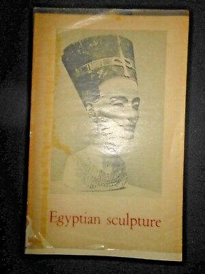 Egyptian Sculpture by Jacques Vandier Head Conservator Antiquities Louvre Museum