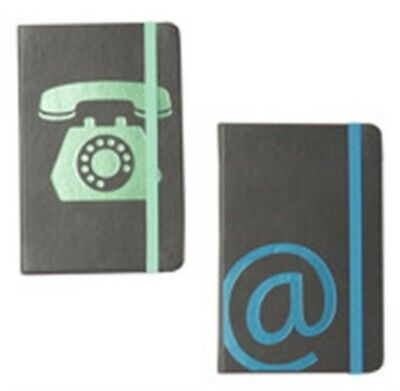"""Markings MA3A-17 3-1/2"""" X 5-1/2"""" Small Leatherette Address Book Assorted Styles"""