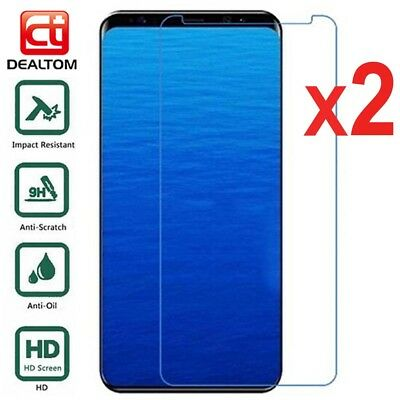Tempered Glass Screen Protector For Samsung Galaxy S5 S6 S7 A6 A8 J4 J6 J8 2018