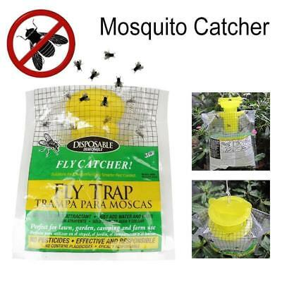 5X Disposable Mosquito Fly Trap Outdoor Insect Killer Catcher Bag Pest Control #