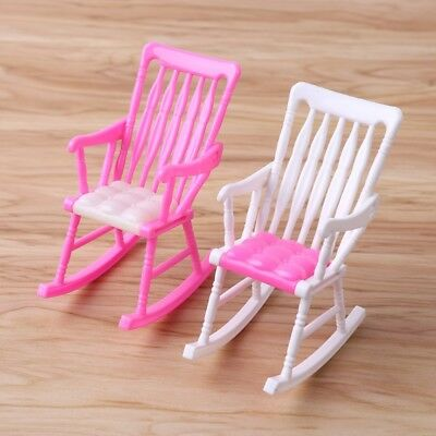 Mini Doll Rocking Chair Doll Accessories For Dollhouse Girls Toys