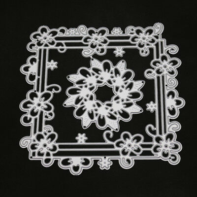 DIY Frame Cutting Dies Stencil Scrapbooking Embossing Album Paper Card Craft