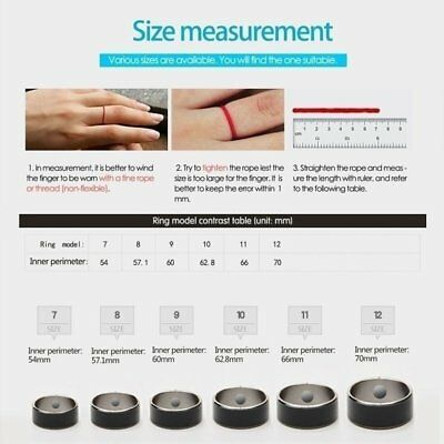 NFC Chips Smart Ring For Android Mobile Phone Waterproof Titanium Steel Ring LU