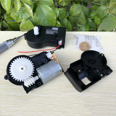 DC 3V-6V 370 Worm Gear Motor 22RPM-47RPM Turbo Gearbox Reduction Slow Speed Toy