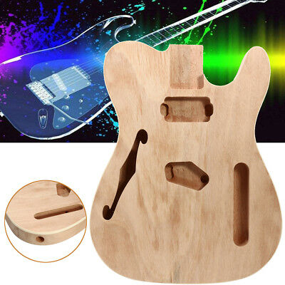 E-Gitarre Bausatz Körper DIY selber bauen Do It Yourself Kit DIY Guitar Body Set
