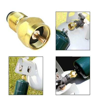 Propane Refill Adapter Lp Gas Cylinder Tank Coupler Heater camping Hunt YW #D
