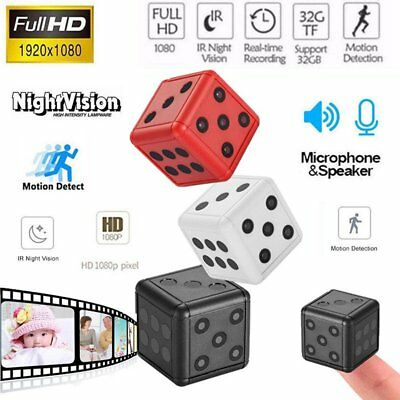 SQ16 HD 1080P Mini Hidden SPY Camera Video Recording Infrared Cam Night Vision