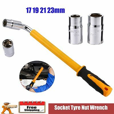 Heavy Duty 17 19 21 23 mm Extendable Wheel Car Brace Socket Tyre Nut Wrench Sale