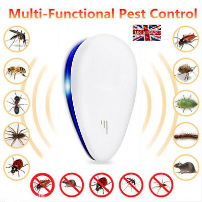 USEFUL Ultrasonic Electronic Anti Mosquito Pest Rat Insect Cockroach Repeller BT