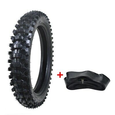 90/100-18 18 inch Rear Tyre Tire + Inner Tube Pocket Bike Dirt Bike Off-road