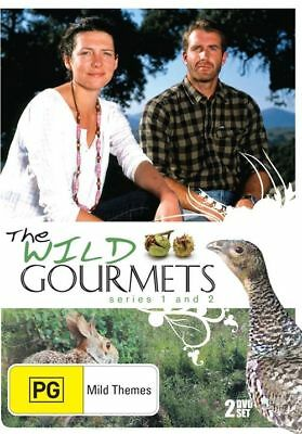 The Wild Gourmets : Series 1 & 2 - 2 Disc Set - New & Sealed Region 4 DVD