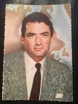 Gregory Peck- Ufa Starpostkarte - Pin-Up - Filmpostkarte - CK -19-Toll- Sexy-