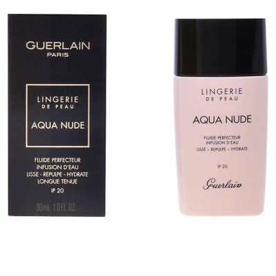Guerlain AQUA NUDE Perfecting Fluid SPF20 02C Clair Rosé 30ml