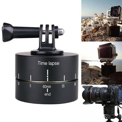 360 Panning Rotating Time Lapse Ball Head Stabilizer Tripod For Gopro Camera _~
