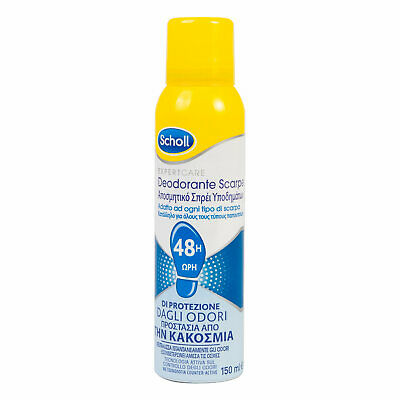 Deodorante Spray Per Scarpe Neutralizza Odori Scholl Fresh Step - 150ml