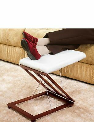 Relaxing Fold Away Adjustable Footstool