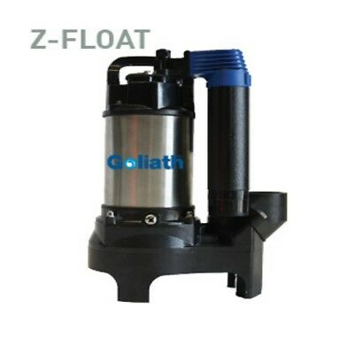 110v Heavy Duty Goliath Super Submersible Drainage Pump Clean & Dirty Water Pump