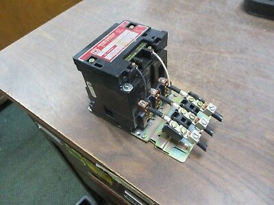 Square D Lighting Contactor 8903 SP011 KP 120V Coil 60A 600V Used