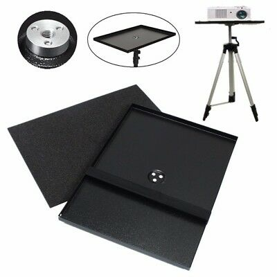 7 inch to 15 inch Metal Laptop PC Projector Tray Holder for 1/4 inch 3/8 inch Sc