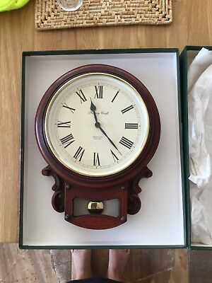 Large Drop Dial Wall Clock by History Craft of Cirencester