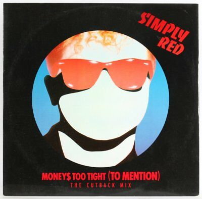 Simply Red, Moneys Too Tight (To Mention) (The Cutback Mix)  Vinyl Record *USED*