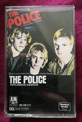 MC Musik Kassette The Police Outlandos D'amour New Wave 1979 A&M Records Roxanne