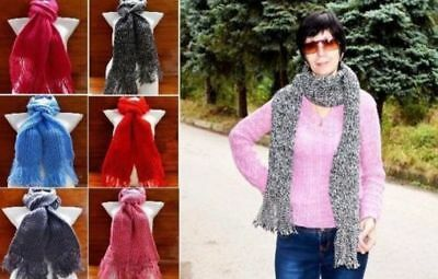 Children's, teenage, adult knitted acrylic scarves in different size Handmade