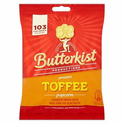 Butterkist Popcorn - Toffee (100g) (Pack of 2)
