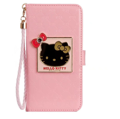 4d1ac24c2 CUTE HELLO KITTY Handbag Flip Leather Wallet Case Cover for iPhone X ...